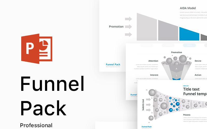 Funnel Pack - szablon PowerPoint