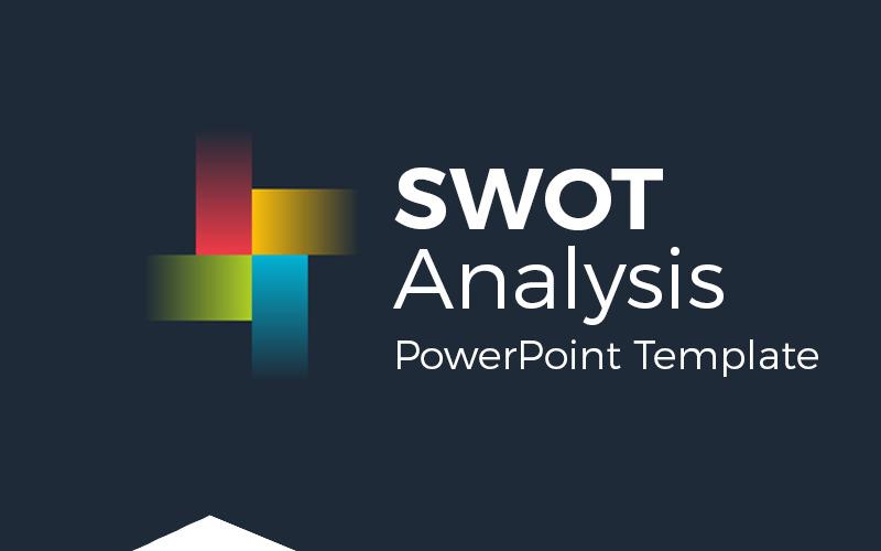 Analiza SWOT Infografika Szablon PowerPoint