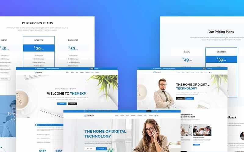 Themexp - Responsive WordPress Theme