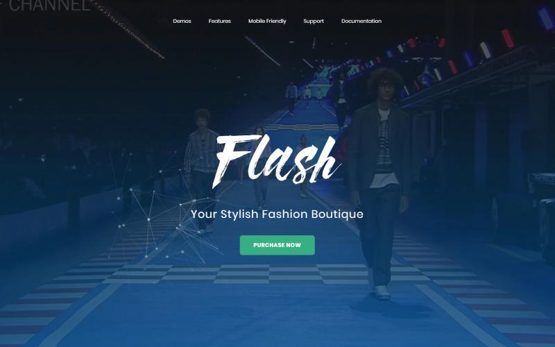 Flash - Víceúčelové a vysoce výkonné téma Magento