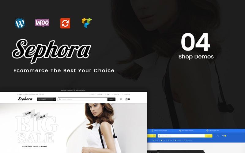 Sephora Multipurpose Store WooCommerce Theme