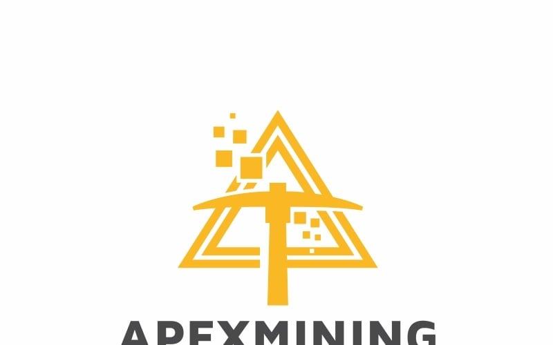 Apex Mining Crypto Logo Logo Template