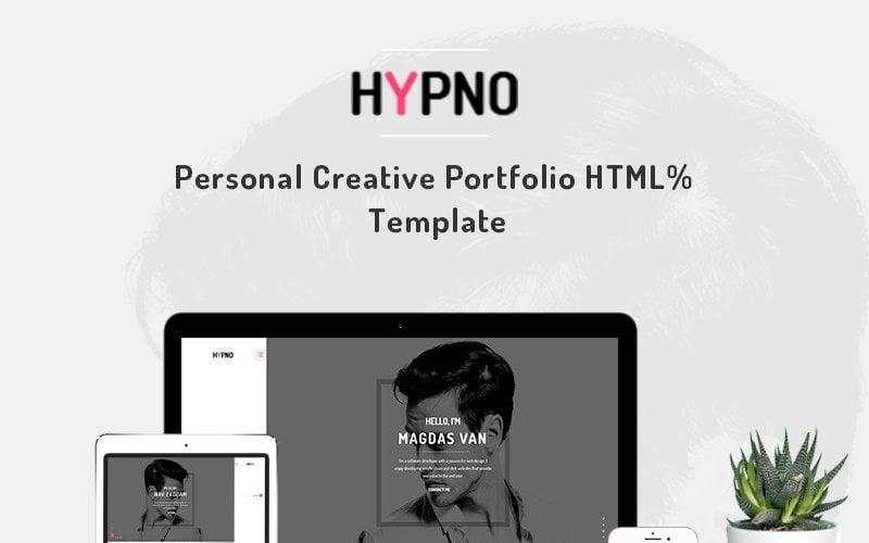 Hypno - Personal Creative Portfolio Website Template