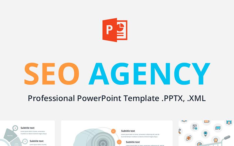 Szablon PowerPoint dla agencji SEO