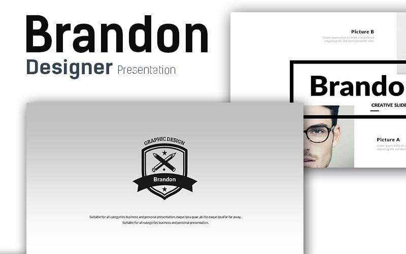 Brandon - Premium Presentation PowerPoint Template