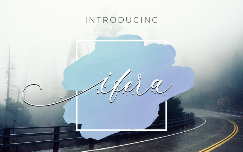 Ifera - Font