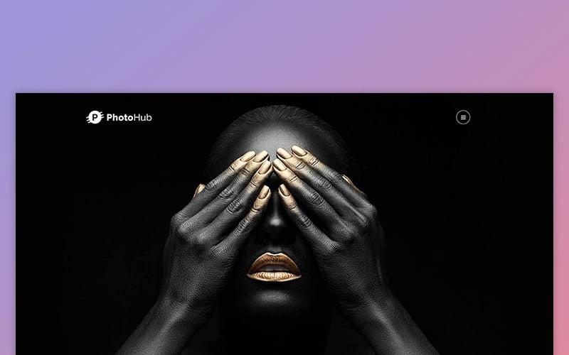 Photohub - Creative Photography Website Template