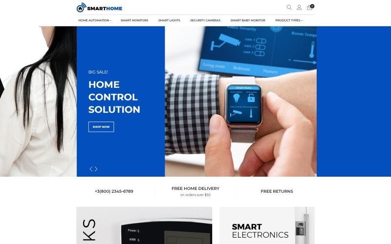 SmartHome - тема для Magento AMP для домашней электроники