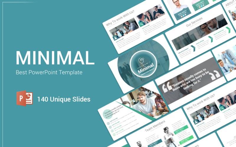 Minimal Creative PowerPoint Template