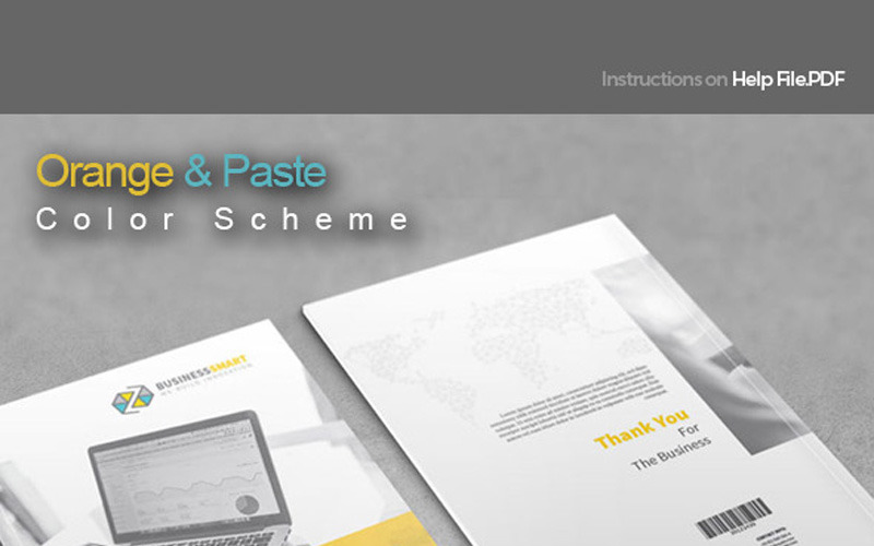 Многоцелевой журнал - InDesign - Шаблон фирменного стиля