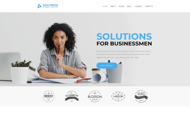 Soltros - Business Services Joomla Template