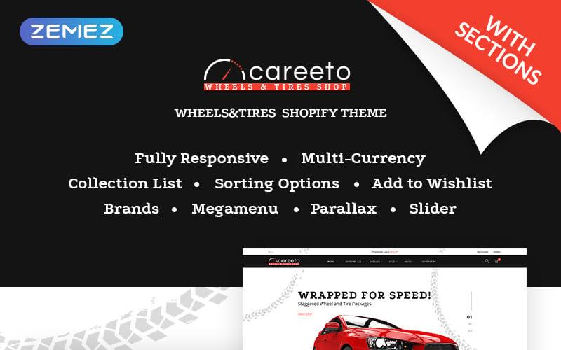 Careeto - Fancy Car Parts Online Store Shopify Theme