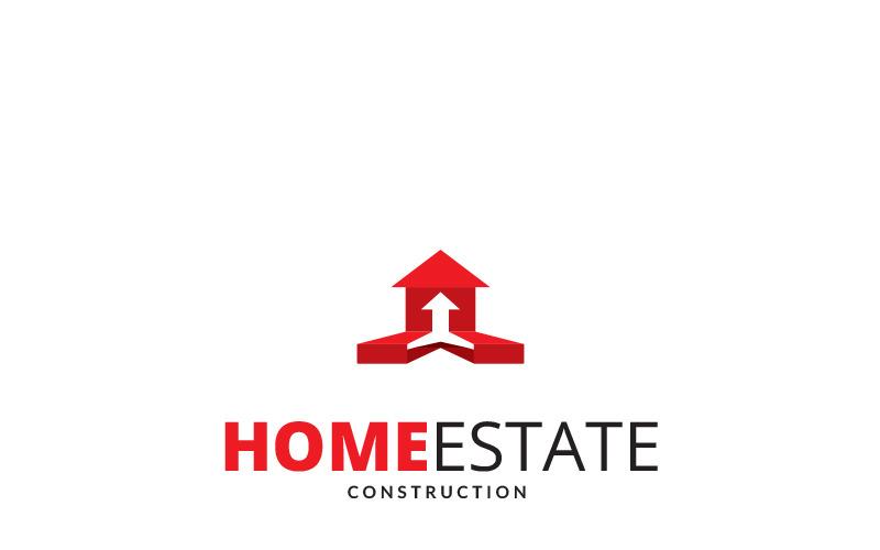 Шаблон логотипа Home Estate