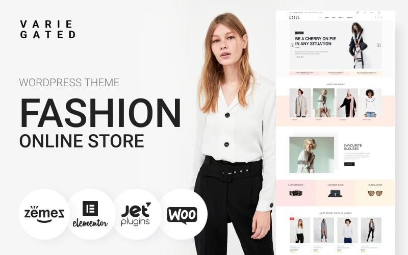 Varie Gated - Fashion Online Store Elementor Motyw WooCommerce