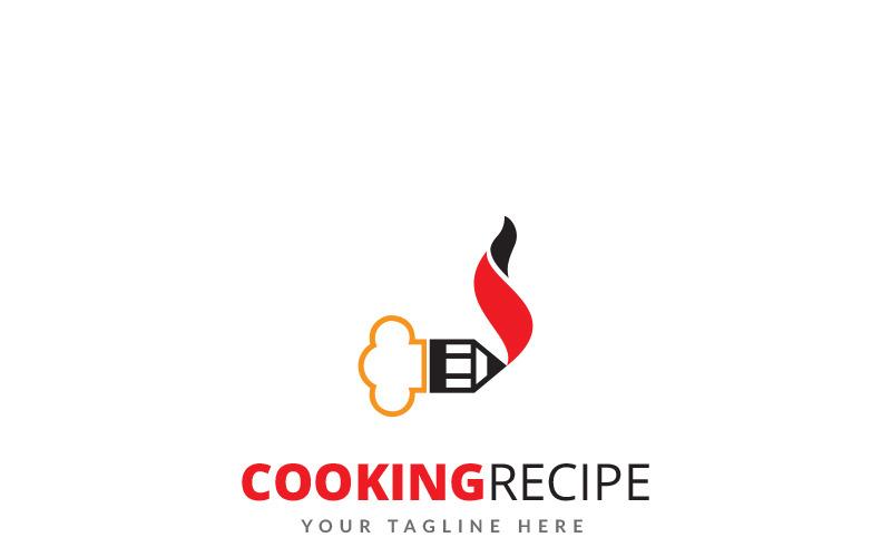 Шаблон логотипа рецепта приготовления