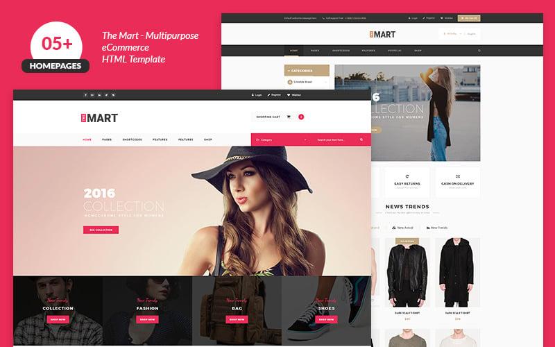 The Mart Multipurpose e-commerce Website Template #69110