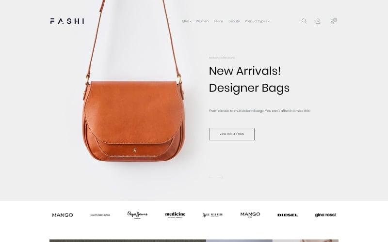 Fashi - Fashion Boutique Magento Theme