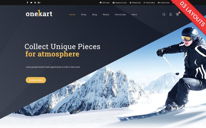 OneKart - Sports Multipurpose WooCommerce Theme