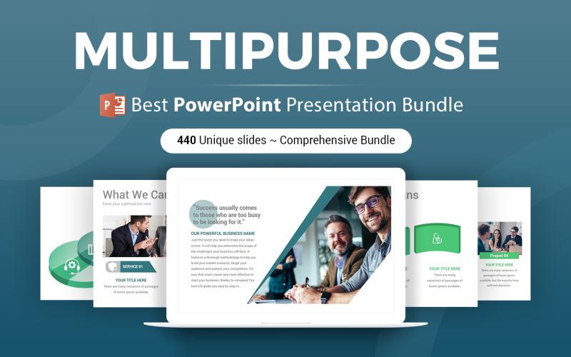 Víceúčelová PowerPoint šablona 2 v 1
