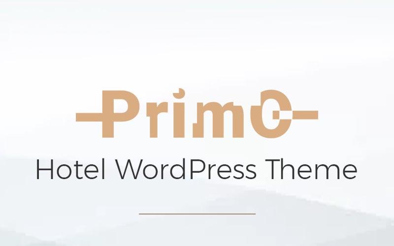 Primo - Hotel WordPress Elementor Theme