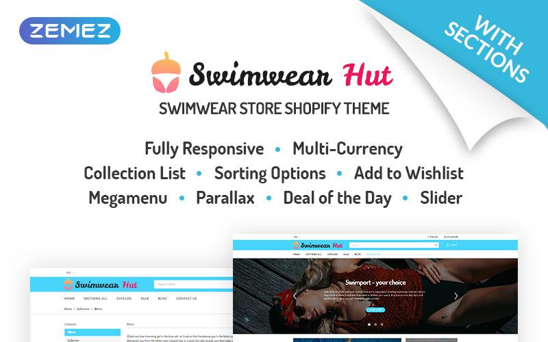 Swimwear Hut - Swimwear Store Shopify Theme