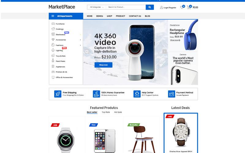 WooCommerce téma Market Place