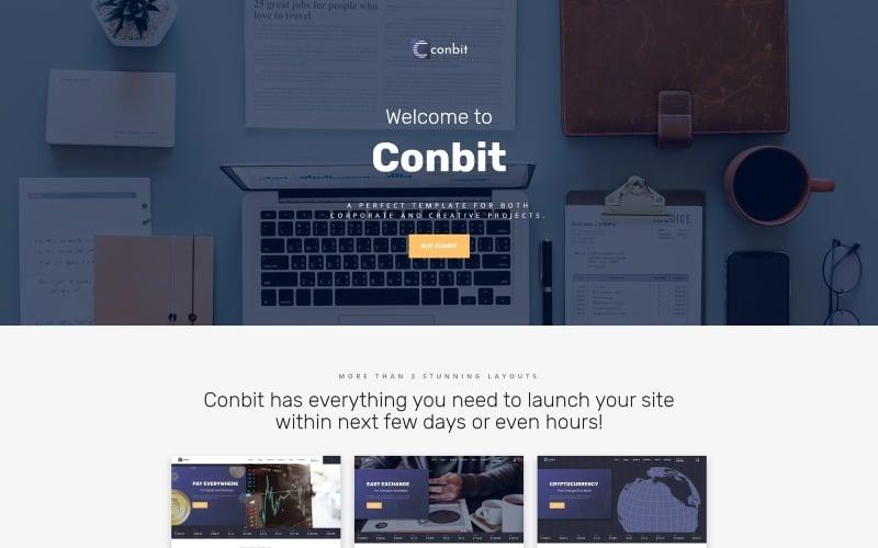 Conbit - Corporate & Creative Projects Multipage Website Template