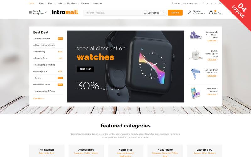 Intromall - Mega Store WooCommerce Theme