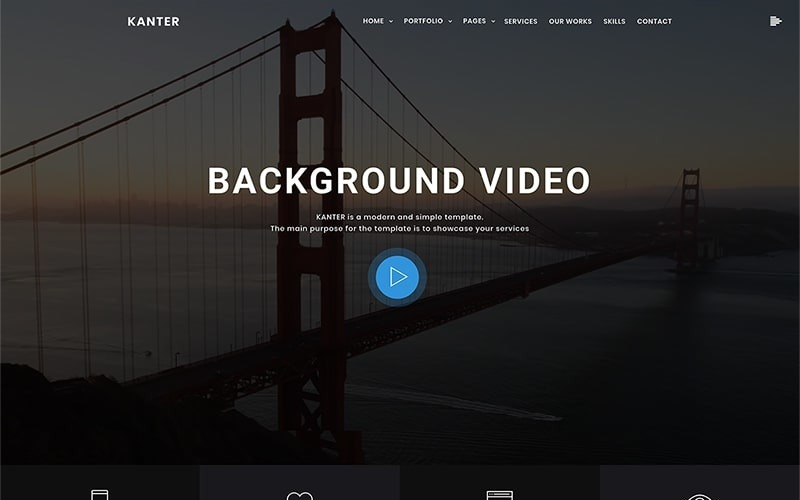 坎特-Corporate&Portfolio&Agency WordPress Theme