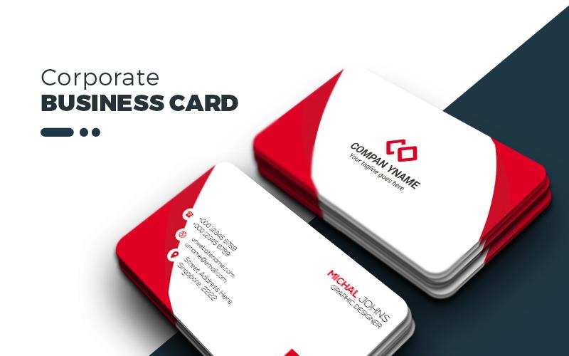 Корпоративная компания - Визитная карточка - Шаблон фирменного стиля
