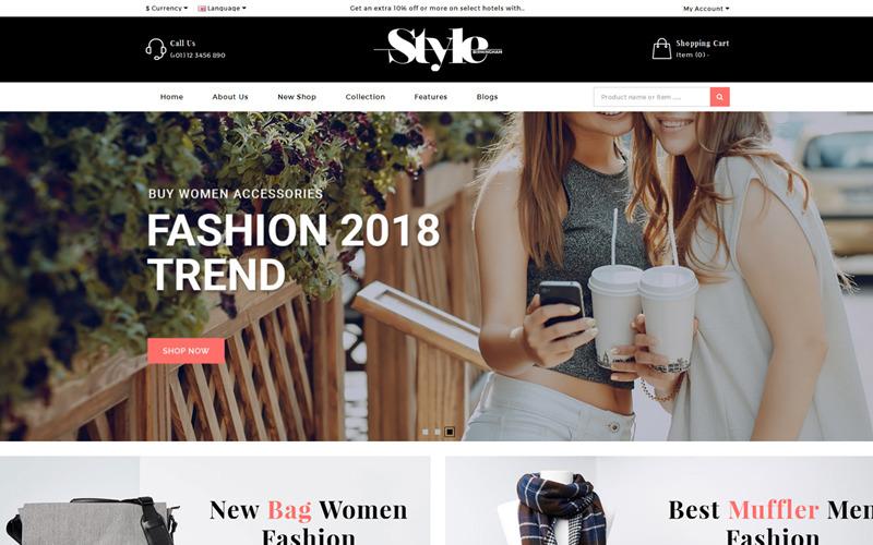 StyleFashion OpenCart-sjabloon