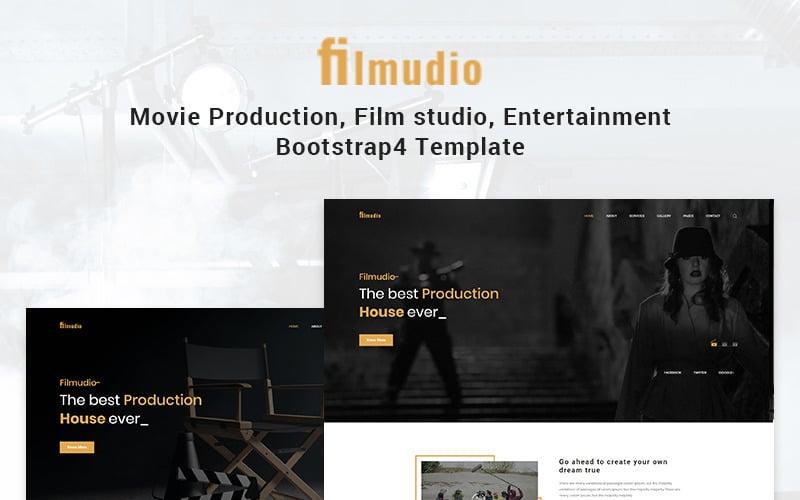Filmudio - Movie Production, Film Studio, Entertainment Website Template