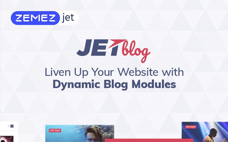 JetBlog - Пакет блогов для плагина Elementor Page Builder WordPress