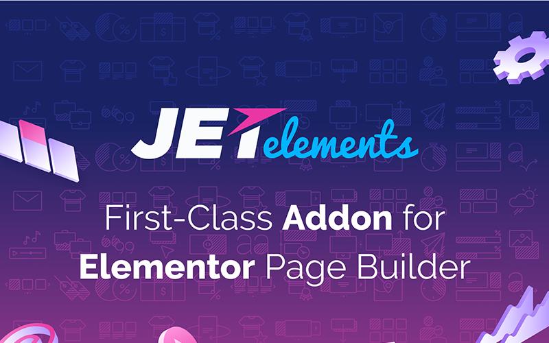 JetElements - Addon para Elementor Page Builder WordPress Plugin