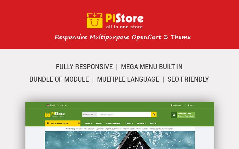 PiStore - Multipurpose Responsive OpenCart Template
