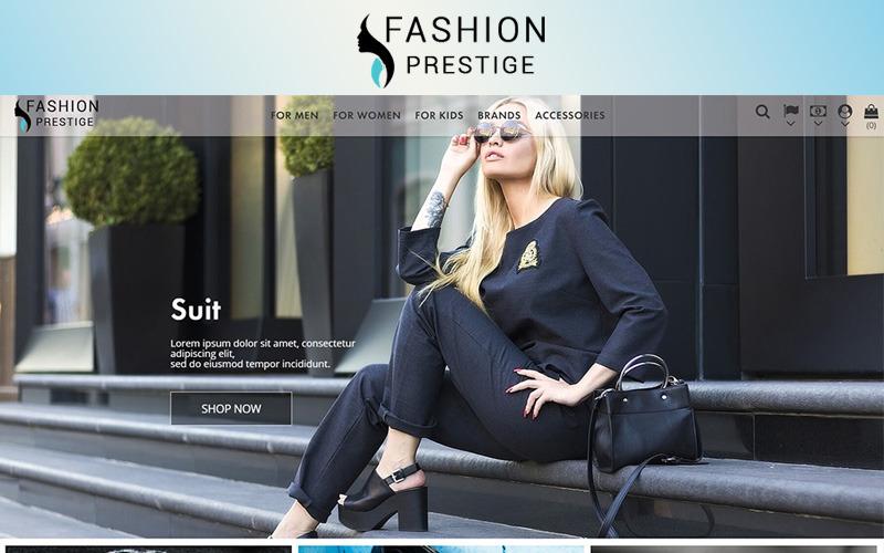 Prestige - Thème PrestaShop Fashion 1.7