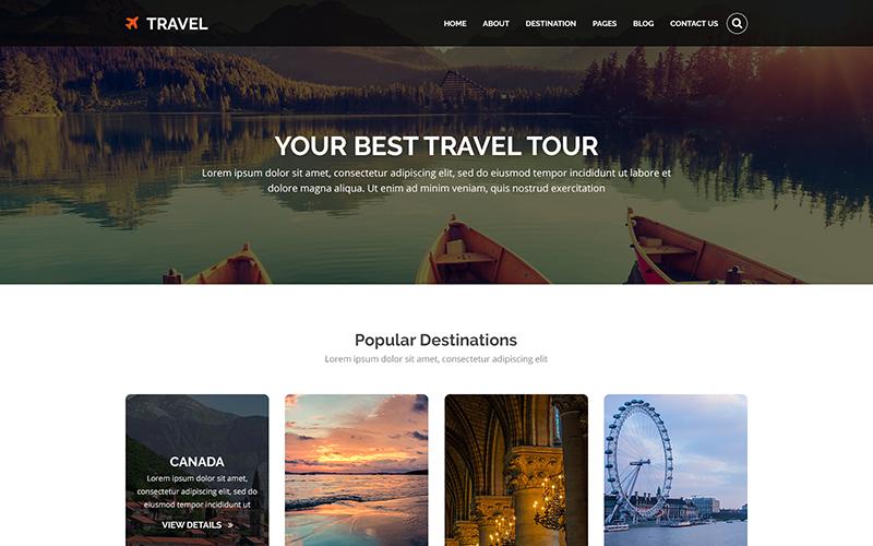 VIAGGI - Modello PSD per tour e viaggi