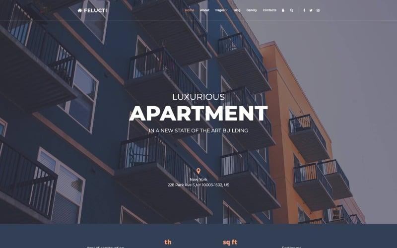 Felucti - Real Estate Creative Joomla Template