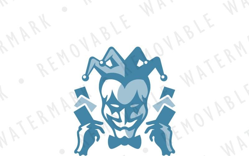 Harlequin Casino Logo Template