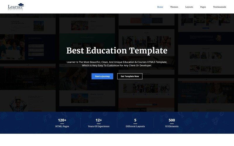 Learner - Education Multipurpose HTML5 Website Template