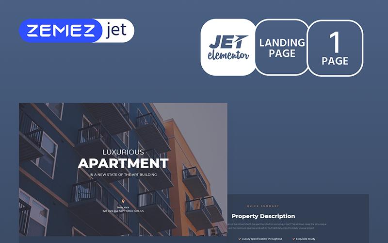 Appartamo - Real Estate - Jet Elementor Kit