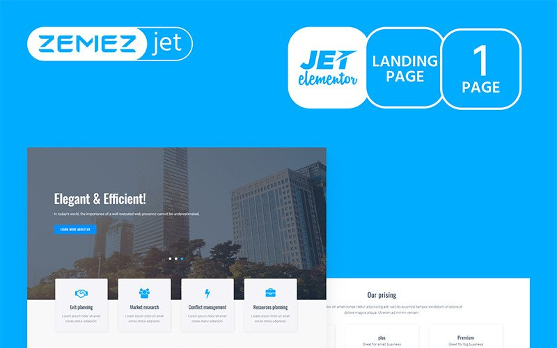 Granbiz - Business - Jet Elementor Kit