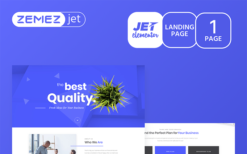 Jamicore - Business - Jet Elementor Kit