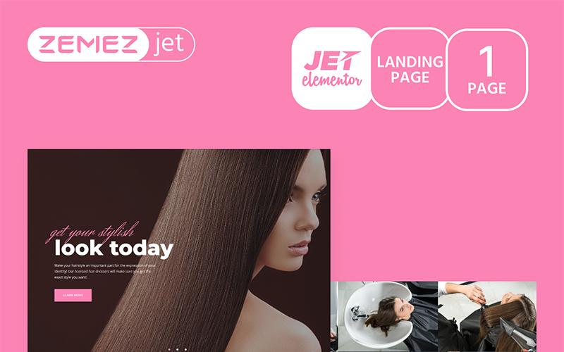 Longsdale - Beauty Salon - Jet Elementor Kit