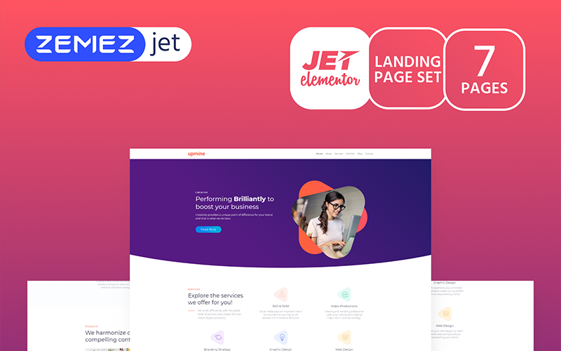 Markent - Цифровое агентство - Jet Elementor Kit