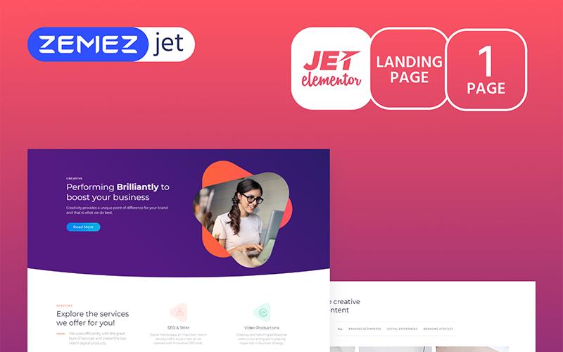 Marketz - Digital Agency - Jet Elementor Kit