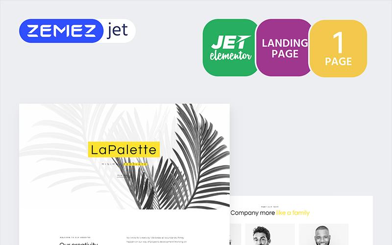 Masterity - Creative Minimal - Jet Elementor készlet
