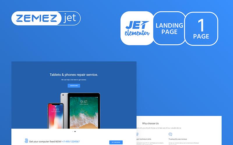 Modazza - Modern Application Jet Elementor Template