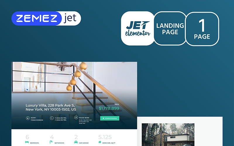 Realcity - Real Estate - Jet Elementor Kit