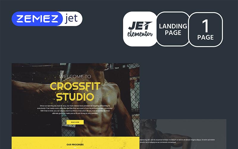 RodLift - Sport - Jet Elementor Kit
